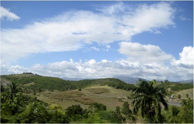 Beautiful Haiti Mountainside