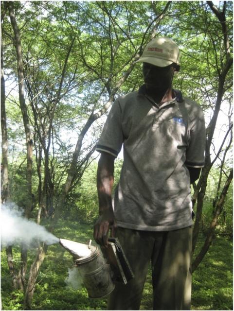 SASH member uses a 'smoker'
