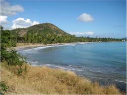 A beautiful beach in Haiti