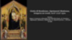 Giotto di Bondonne, Ognissanti Madonna.j