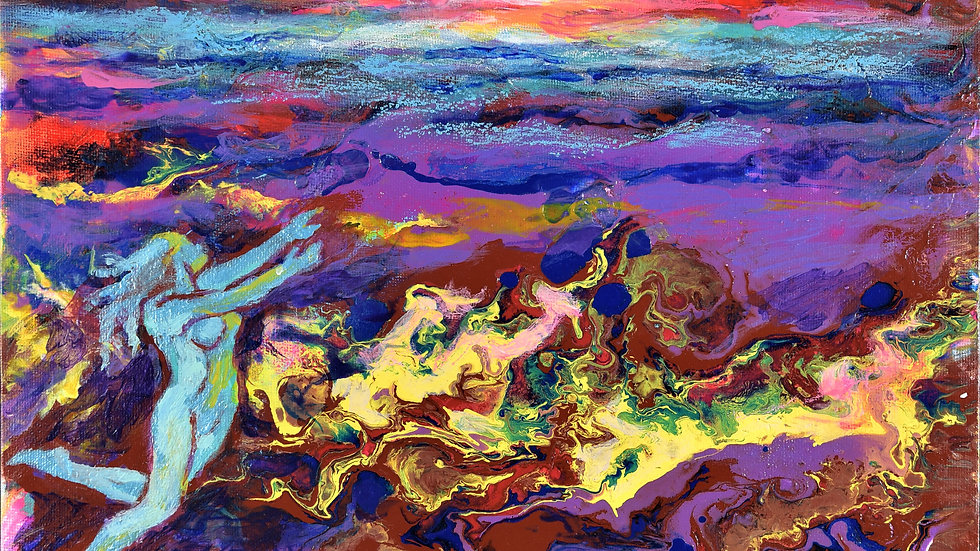 In-Person Joy & Discovery of Empathic Acrylic Pour-Sandra Zahn 4/24 & 4/25