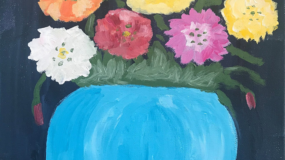 Acrylic Painting Art Camp  7/27 - 7/30