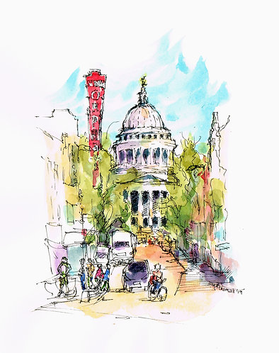 A Pen, a Sketchbook, Watercolor and You! with Ann Thomas 7/24