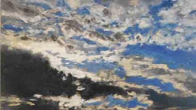 Christopher Behrs   Cloud Series 11B Pastel