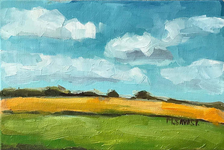 The Farm Field: Acrylic Painting Workshop 3/7