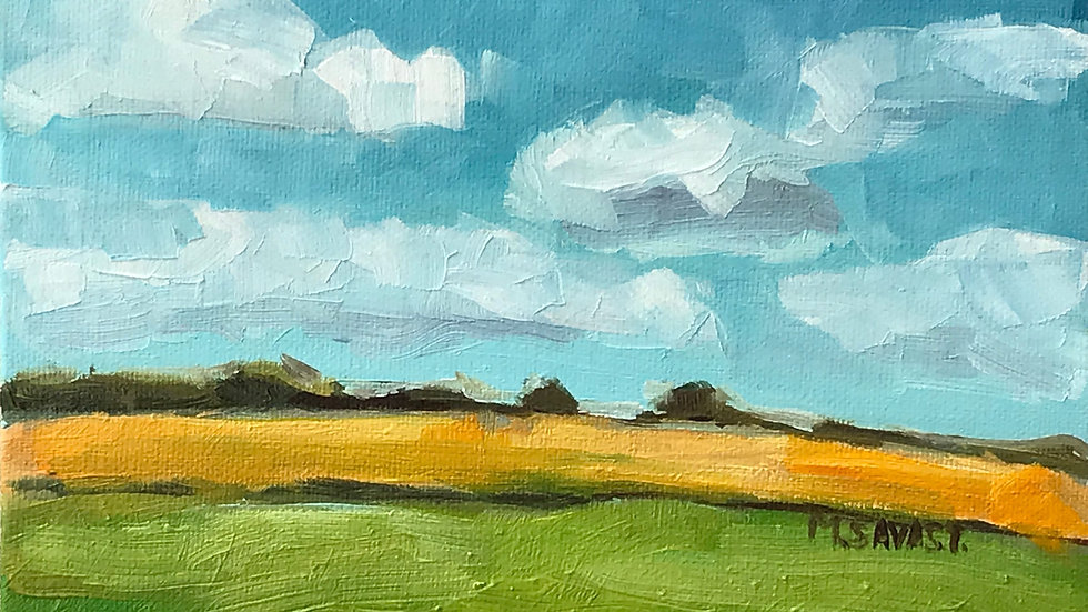 The Farm Field: Acrylic Painting Workshop 3/7
