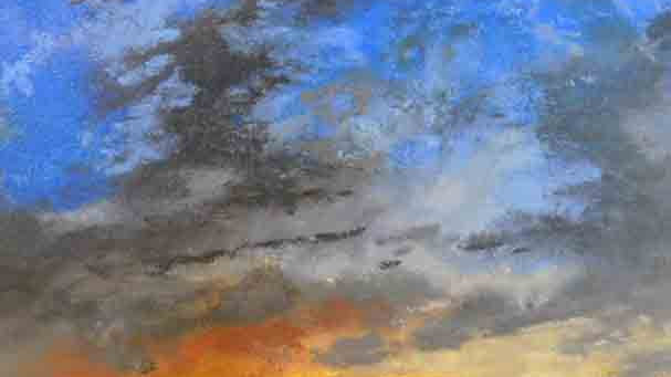 Christopher Behrs   Cloud Series 21C Pastel