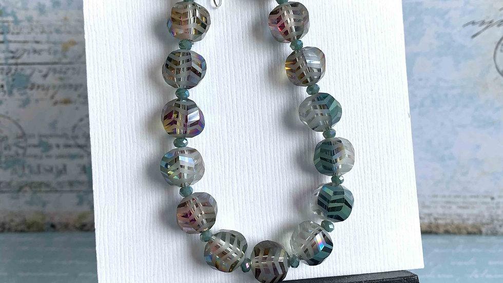 Frosted Wave Crystals Bracelet