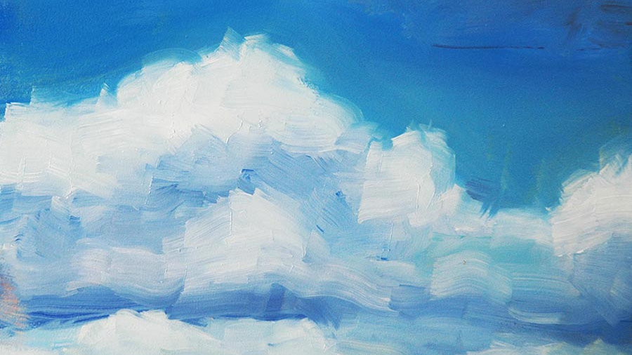 Cocktails and Canvas: Giving Clouds their Fluff-7/11