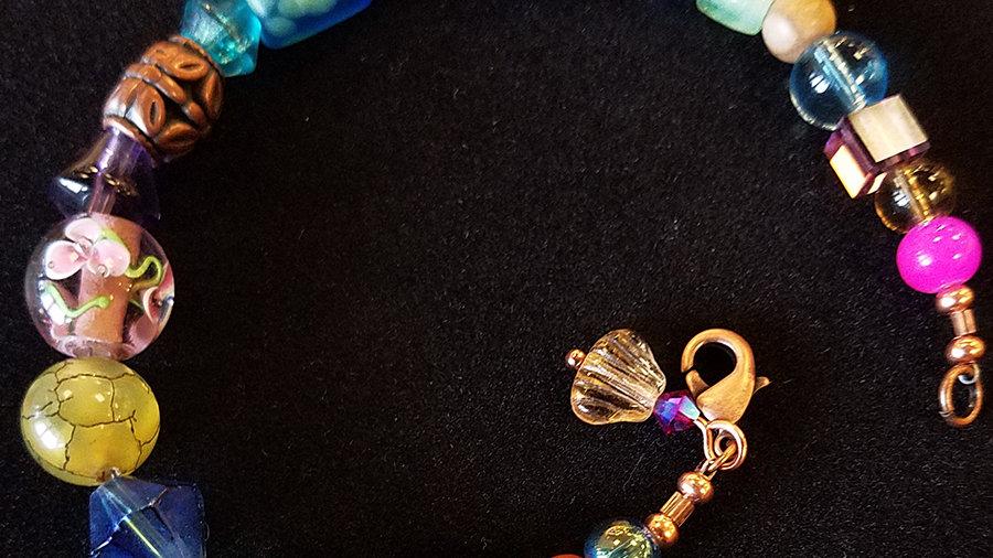 Hodgepodge Bracelet & Earrings-6/13