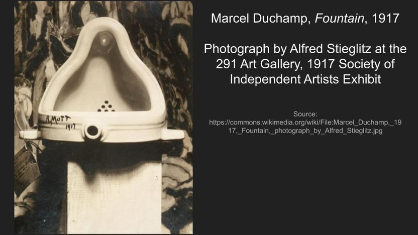 Marcel Duchamp, Fountain, 1917   .jpg