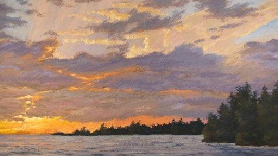 Superior Sunset –  Keweenaw Penisula