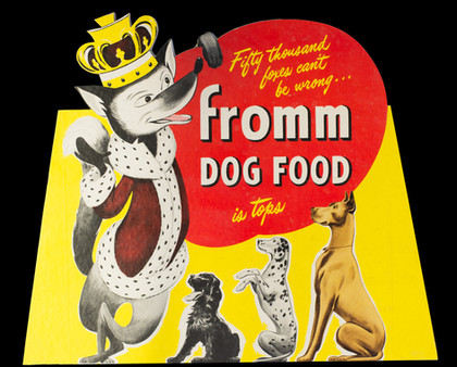 Fromm Dog Food Advertisement 1949.jpg