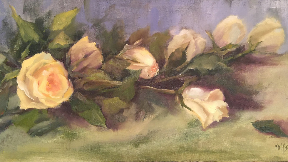 Painting with a Limited Palette: Roses and Tulips with Deb Rolfs