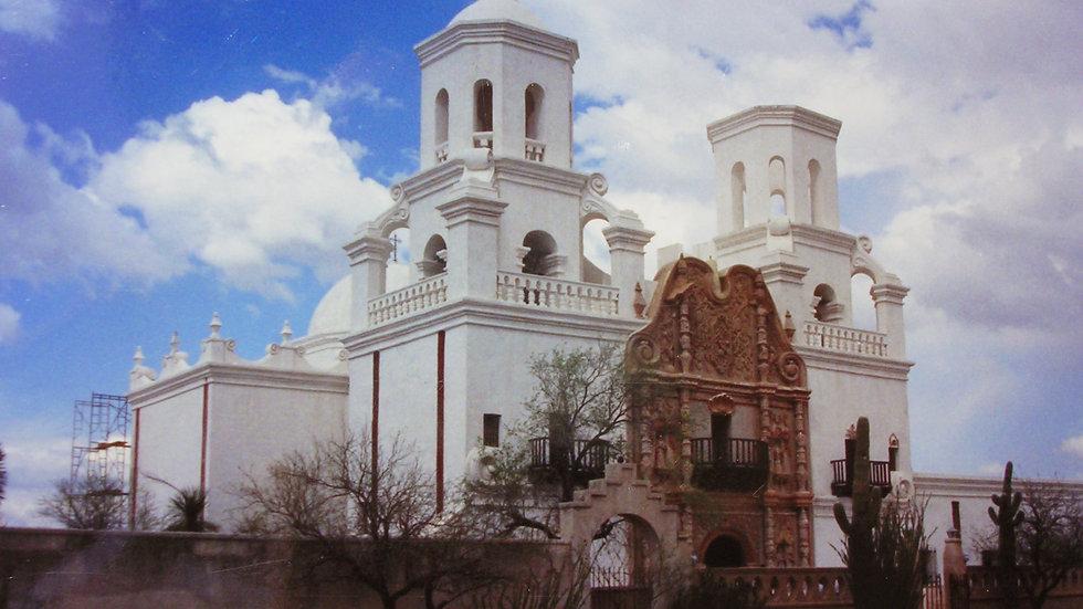 Artist Talk: History of Mission San Xavier del Bac Church with Robert Olney 9/22