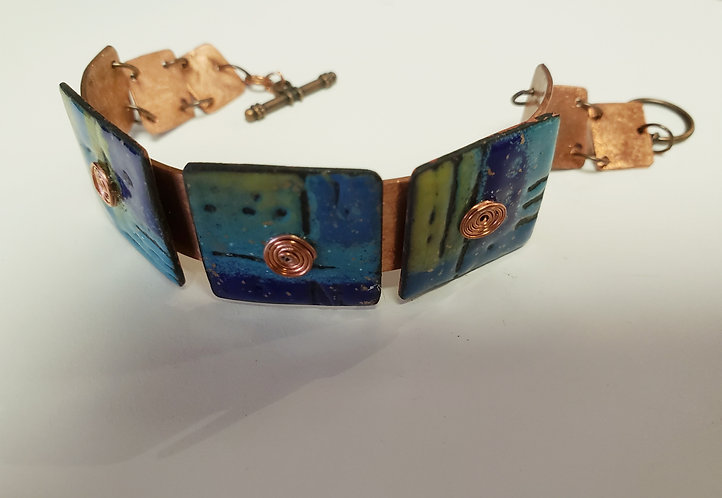 In-Person: Copper Enamel Cuff Bracelet with Beth Ratledge  5/15
