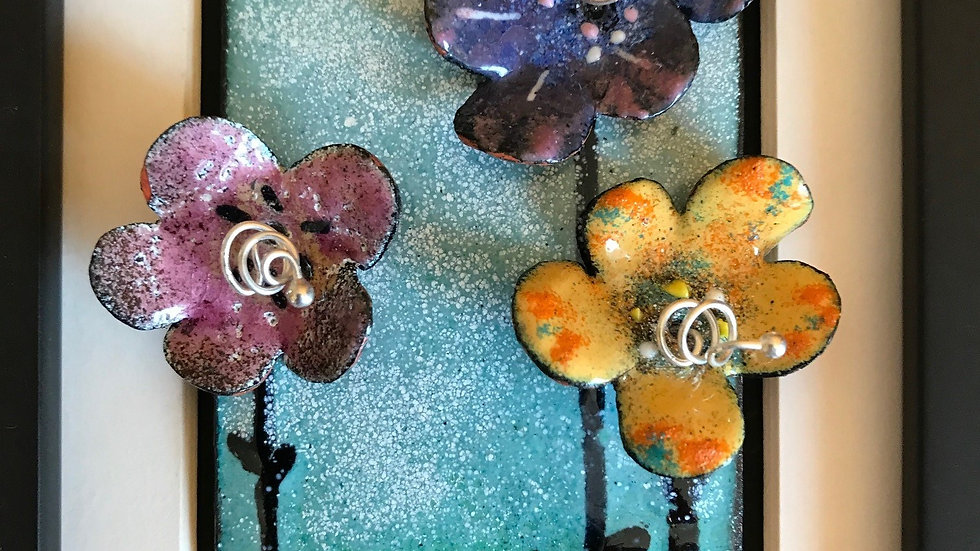 Copper Enamel Summer Garden 9/12