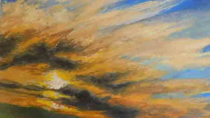 Christopher Behrs   Cloud Series 8B Pastel