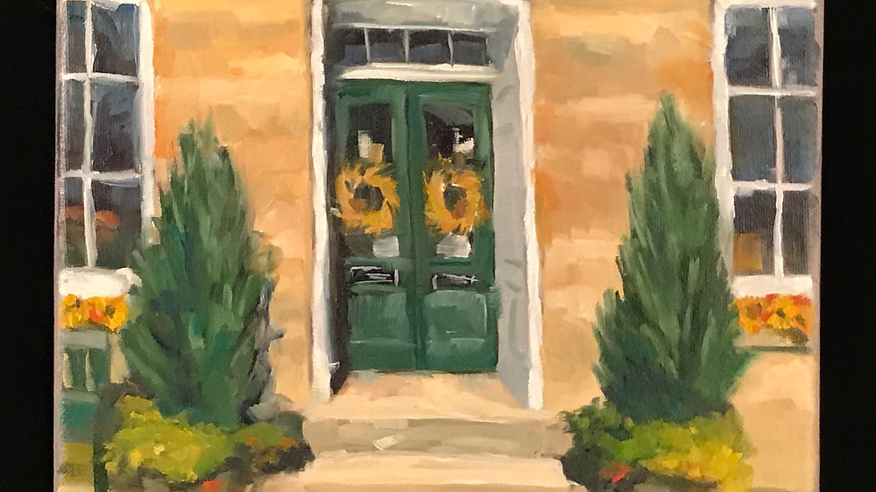 Discovering an Entryway's Charm: Acrylic Painting Workshop  12/10