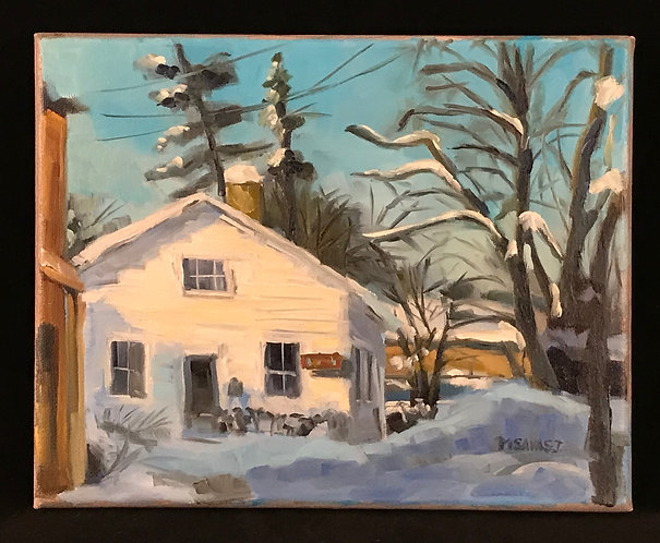 VIRTUAL-A Cedarburg Winter: Acrylic Painting Workshop  1/21