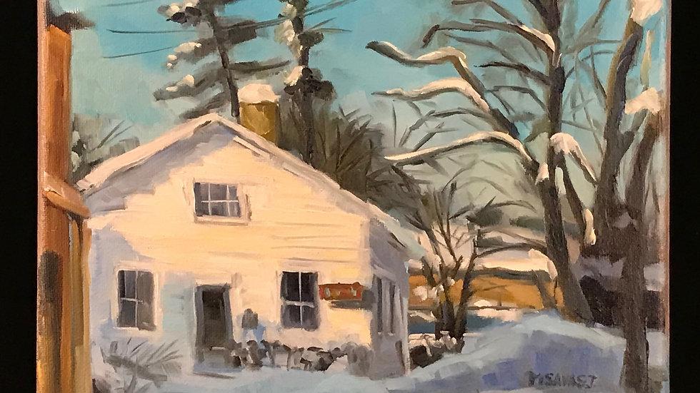 VIRTUAL-A Cedarburg Winter: Acrylic Painting Workshop  1/21