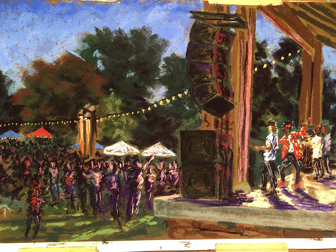 Capturing a Moment in Time: Painting en Plein Air with Chris Behrs 8/14