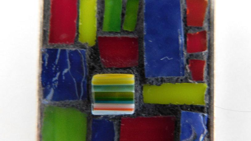 Mosaic Square Pendant