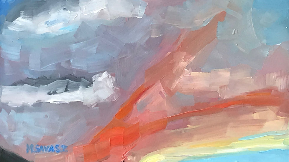 Clouds: Amazing Sky Painting Workshop 5/7