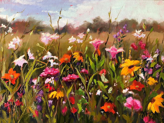 Hybrid: In-person or Virtual Wisconsin Wildflowers with Deb Rolfs  3/13