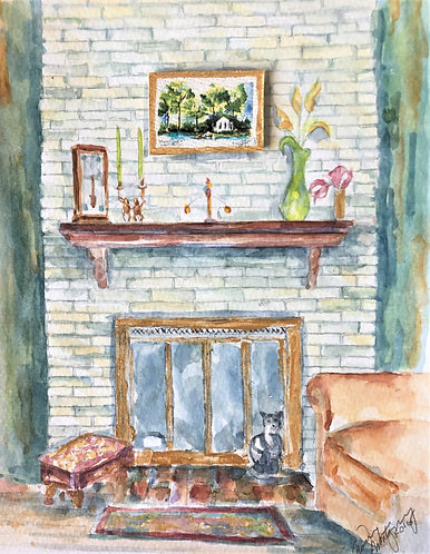 Interiorscape in Watercolor with Nancy Montgomery-12/4