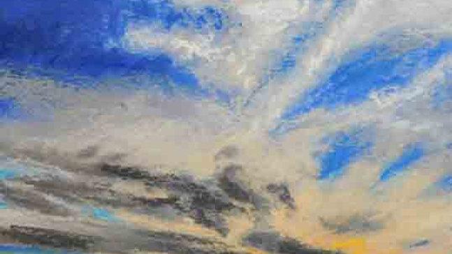 Christopher Behrs   Cloud Series 19C Pastel