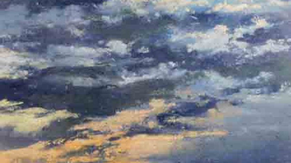 Christopher Behrs   Cloud Series 17C Pastel