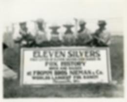 Eleven Silverfox Pups 1933 Thiensville.j