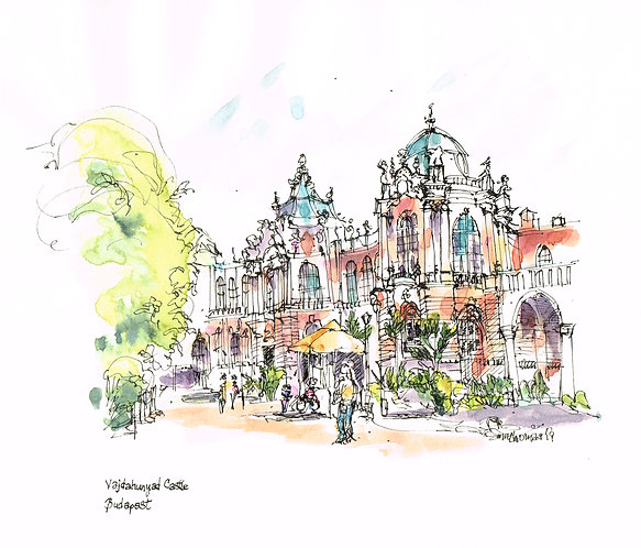 Pen & Ink and Watercolor with Ann Thomas