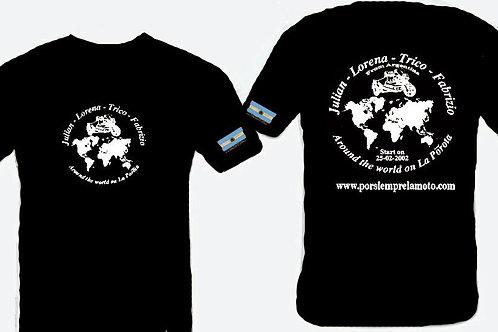 CAMISETA NEGRA - BLACK T-SHIRT S-M-L-XL
