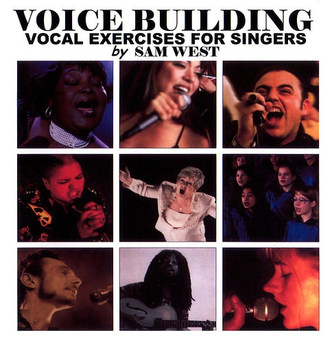 Voice Building Vocal Exercises for singers CD