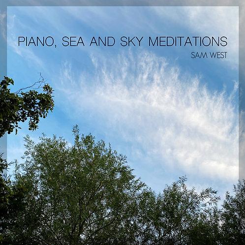 Piano, Sea & Sky Meditations CD