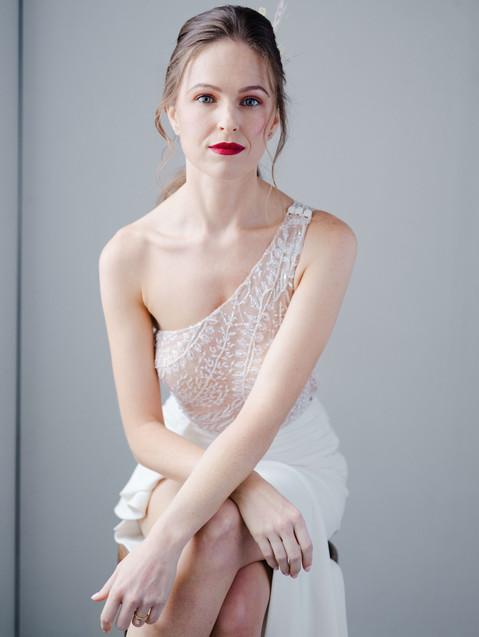 """Jasmine"" Bridal Maxi Gown"