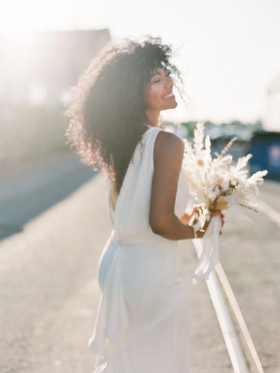 """""""Tulip"""" Maxi Bridal Gown"""