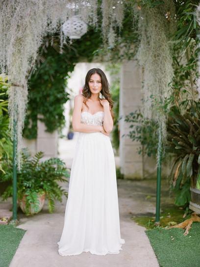 """Spring"" Bridal Dress"