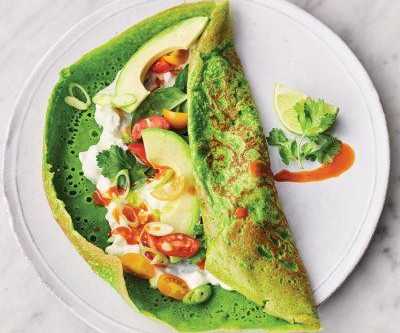Super Spinach Pancakes