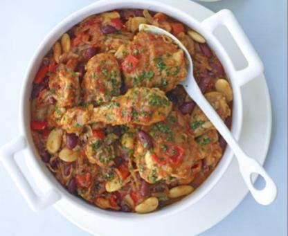 Chicken & Spicy Bean Stew