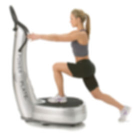 Power Plate Lunge