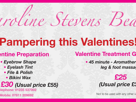 Valentines Beauty Offer!