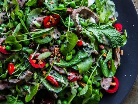 Sesame Steak Salad