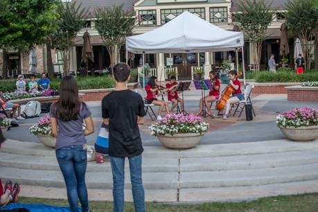 Pop-Up Concert at Market Street