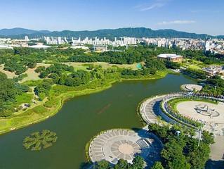 Олимпийский парк в Сеуле