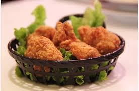 소스 바른 닭튀김  Курица в кляре  под соусом