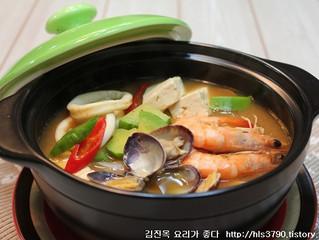 해물된장찌개 Суп с морепродуктами