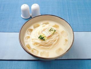 Ккхонкуксу: лапша в соевом соусе(콩국수)